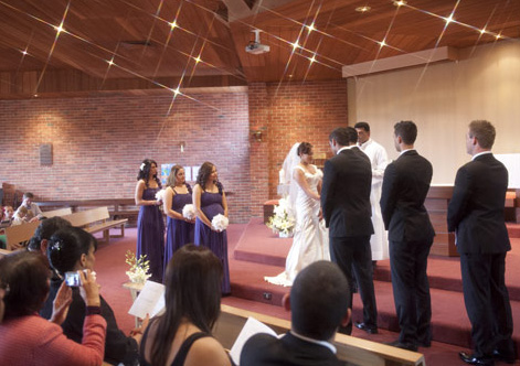 wedding photography st johns church