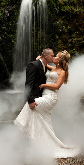 melbourne waterfall for wedding photography