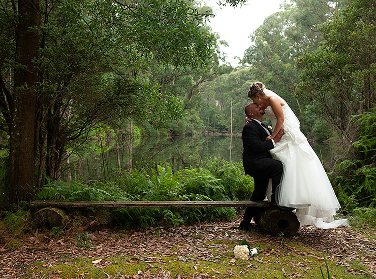 wedding on accessible melbourne beach